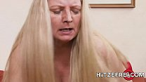 HITZEFREI German MILF has her pussy stuffed preview image