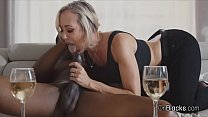 Bigtit MILF blows neighbours big black cock thumb