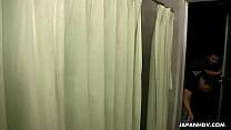 Slutty Asian babe getting her wet vagina finger fucked thumbnail