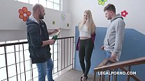 Pickup Anal Party Diane Chrystall gets 2on1 Bal...