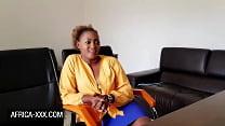 Amateur Ebony Beauty On A Lusty Job Intervierw
