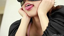 Saliva fetish A woman showing a tongue and saliva