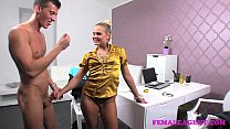FemaleAgent Nervous inexperienced stud versus horny MILF agent pornhub video