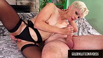 Smoking Hot Blonde Mature Erica Ryko Deepthroat...