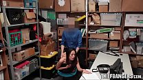 Hot Asian Teen Thief Aurora Winters Stripped & Fucked