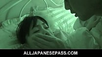 Sleeping angel Hikaru Momose has surprise sex