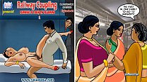 Velamma Episode 68 - Railway Coupling – Running... Thumbnail