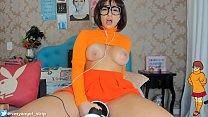 ASMR 3DIO Cosplay Welma Scooby-Doo! Welma safadinha fazendo-te gozar GOSTOSO, Teasing Queen pornhub video