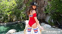 Riley Reid's Cumtastic Outdoors Solo