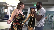 Very HOT MILF's Interracial Sex. - Sara Jay & Nicky Ferrari Shaundam