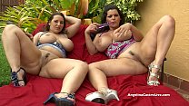 Angelina Castro & Lexxxi Lockhart Big Titted BJ Outside! Vorschaubild