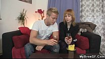 Slut cheating her BF with his younger brother: Timea Bella thumbnail