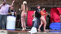 hottest milf contest at the abate of iowa biker rally preview image