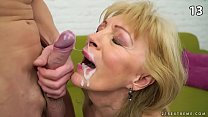 TOP 15 Granny cumshots, facials pornhub video