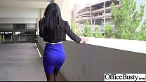 (amia miley) Office Girl With Big Tits Bang In ...
