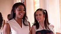 DDF Network-Nekane and Jasmine Webb Fitness fucked in Cheerleader outfits - 9Club.Top