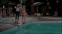 Beverly D'Angelo naked at the swimming pool in 'National Lampoon's Vacation' (1983)