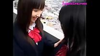 Lesbian Schoolgirls Experiment On Each Other