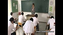 Japanese teacher fucked by her students porn image