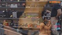 Amateur ebony gets boned at the pawnshop صورة