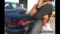 Amateur Black sluts gangbang on rooftop thumbnail