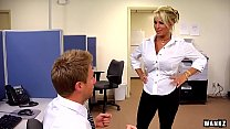 WANKZ- Holly Halston is the Ultimate MILF Boss's Thumb