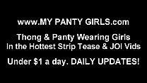 You will love jerking off to me in my pink panties JOI