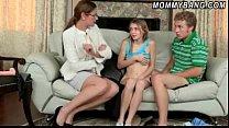 Stepmom Samantha caught her stepdaughter Ava fu...