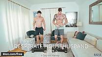 Men.com - (Casey Jacks, Cliff Jensen) - Desperate Househusband Part 2 A Gay Xxx Parody - Str8 to Gay - Trailer preview