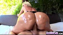 Oiled Girl (alena croft) With Big Butt Love Ana...