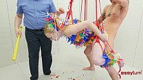 Anal pinata girl gets brutal punishment video