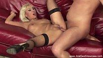 Blonde Gets Her Ass Fucked صورة