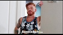 ShowerBait Str8 Bennett Anthony shower fucks Brendan Phillips