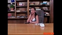 Asian Hotties Using a Strap-on in the Office: Free Porn 2c - abuserporn.com video