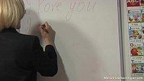 Russian Mature Teacher 7 - Tamara (English Lesson)