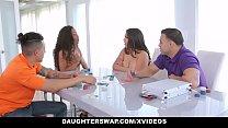 DaughterSwap - Horny Latina Teens Having an Orgy thumbnail