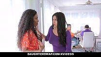 DaughterSwap - Horny Latina Teens Having an Orgy Thumbnail