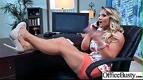 Busty Office Girl (Cali Carter) Get Hardcore Action Bang vid-09