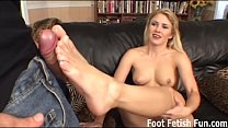 Sabrina wants to give you a perfect footjob pornhub video