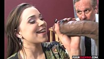 Poor Chastity Cuckold Watching Tiffany Star Hav...