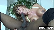 Ava Devine takes a BBC up her ass