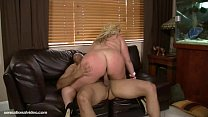 Amazon Big Tit Blonde Skye Sinn Gets Fucked at Dinner