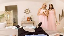 Vrbangers.com Bridesmaids Mia Malkova & Riley Reid Fuck The Groom Threesome
