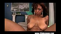 Horny big tits ebony in action pornhub video