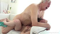 Old-n-Young.com - Luna Rival - Old man makes sw... thumb