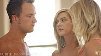 Nubile Films - Hayden Hawkens loans her mans cock to her cute girlfriend