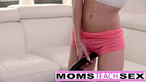 Moms Teach Sex - Big tit mom catches daughter thumbnail