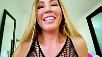 Perfect POV Big Tit Kianna Dior Gives POV Blowjob & Gets Hot Facial preview image