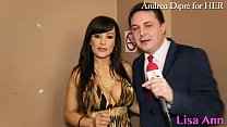 Lisa Ann: porn meeting with Andrea Diprè! Thumbnail