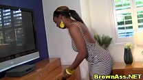 Big ass ebony hotties bent over cumshot